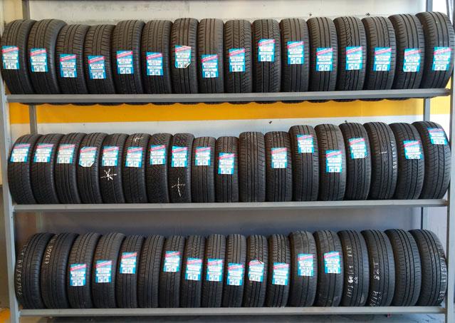 Neumáticos segundo uso revisados