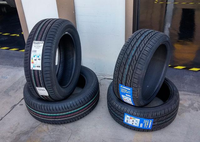 Neumáticos primeras y segundas marcas revisados