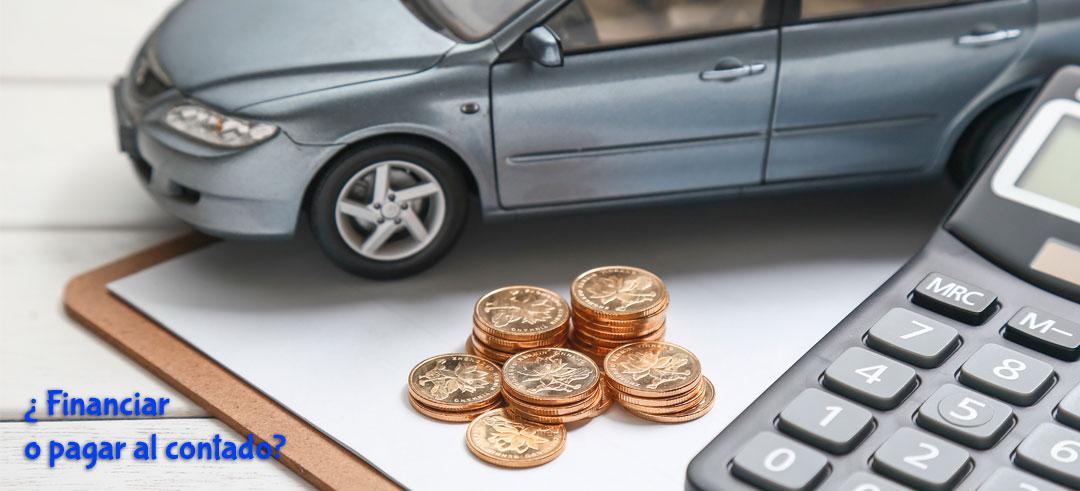 Financiar un coche o pagar al contado