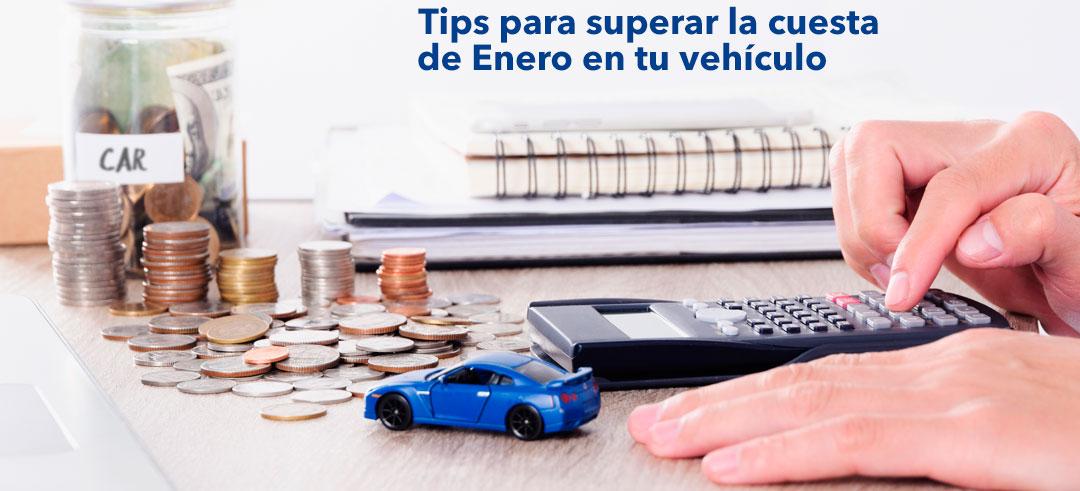 Supera la cuesta de enero de tu coche