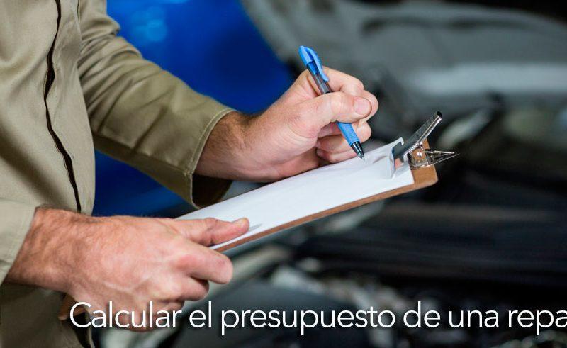 calcular el presupuesto de una reparación en un taller mecánico