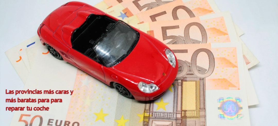 provincias más caras para reparar un coche