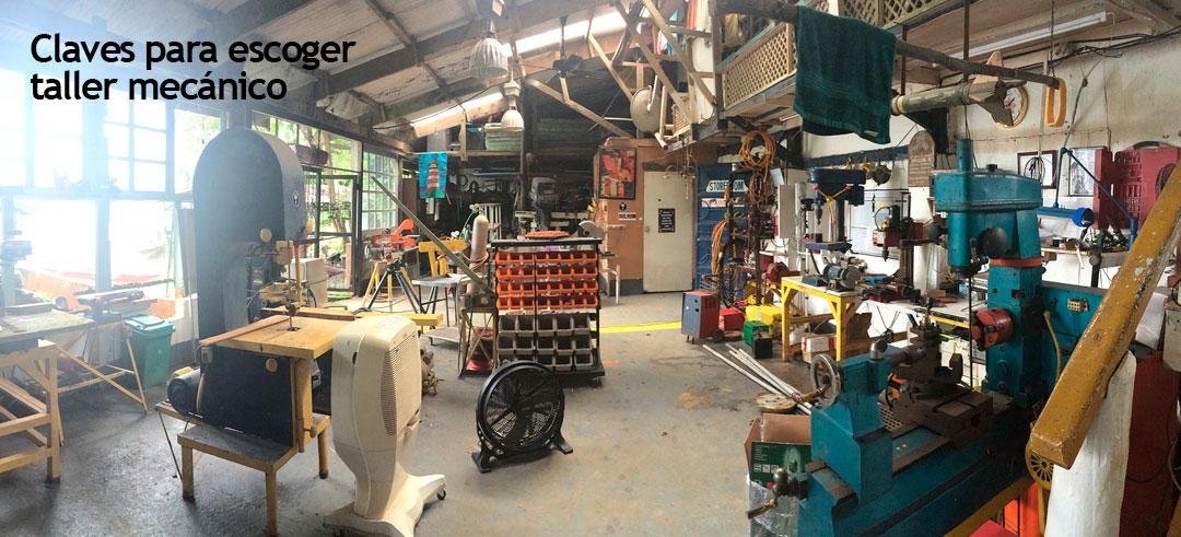 claves para escoger un taller mecánico