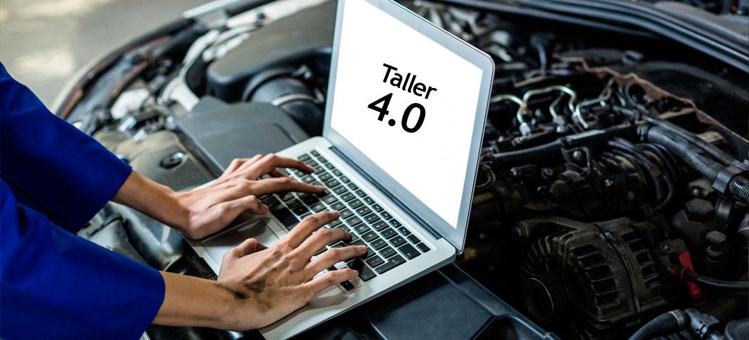 taller mecánico 4.0