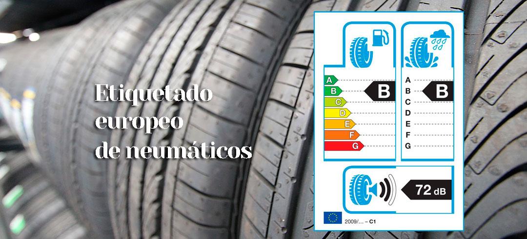 significado de la etiqueta de neumáticos