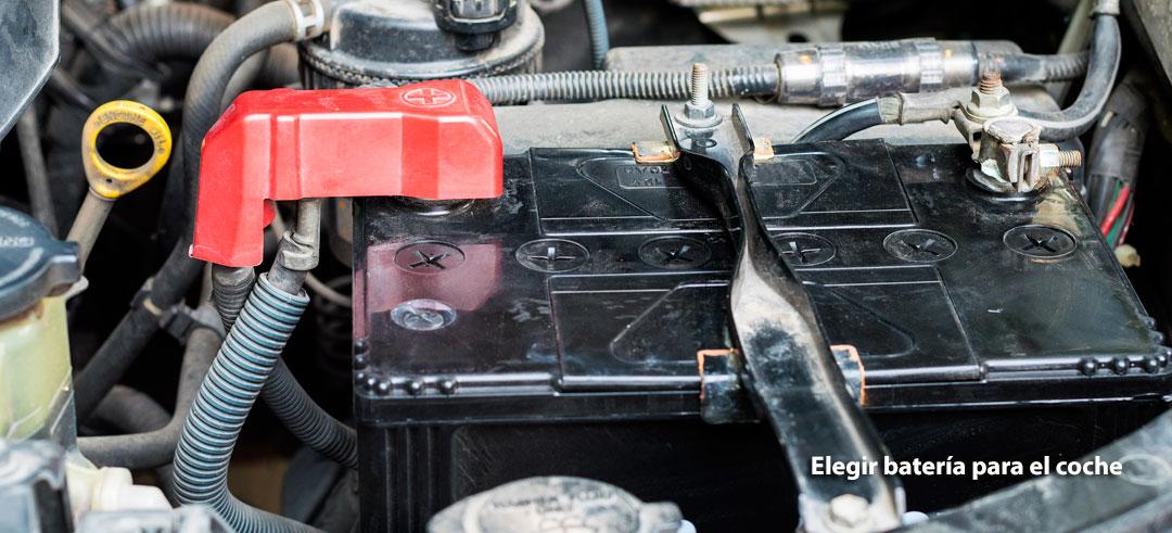 escoger una batería para el coche