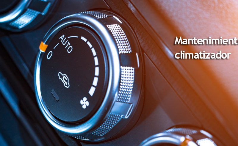 mantenimiento del climatizador del coche